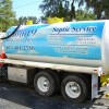Full Color Print On Septic Truck