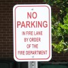 No Parking Aluminum Sign