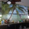 Digital Print on Back Wall of Outside Bar